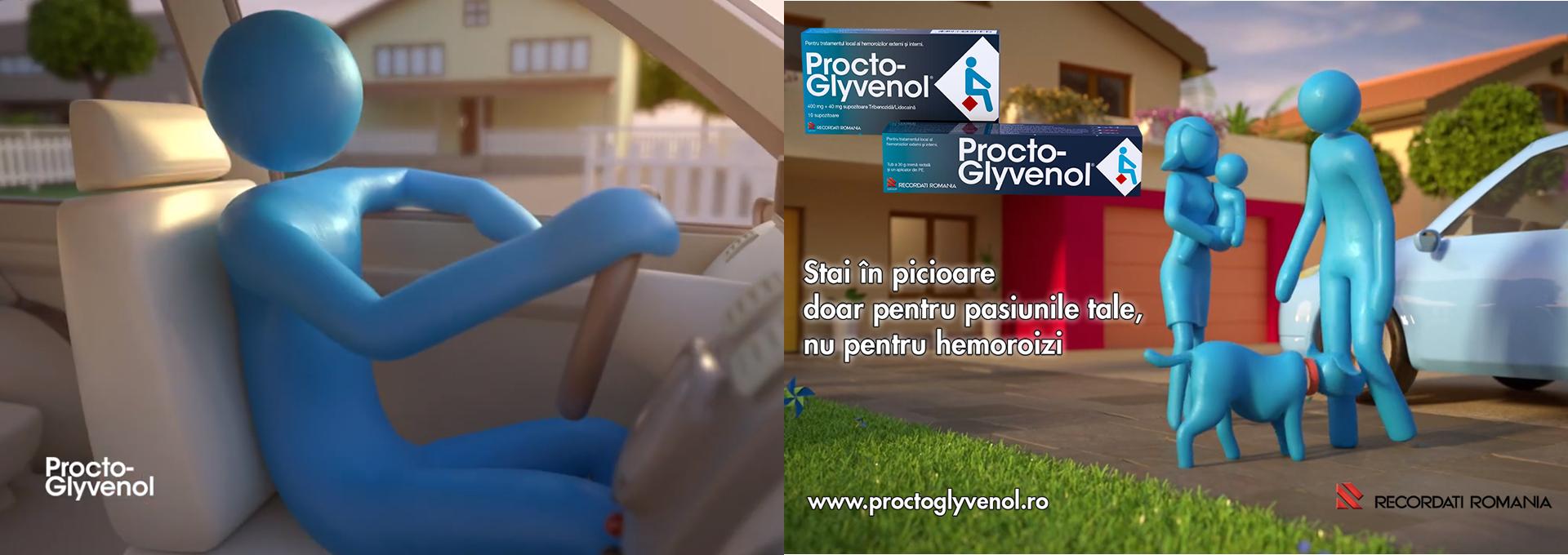 Procto-Glyvenol calmează rapid durerea şi îmbunătăţeşte tonusul vascular.